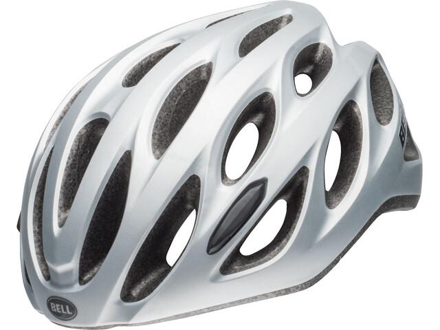 Bell Tracker R Fietshelm, matte silver/titanium